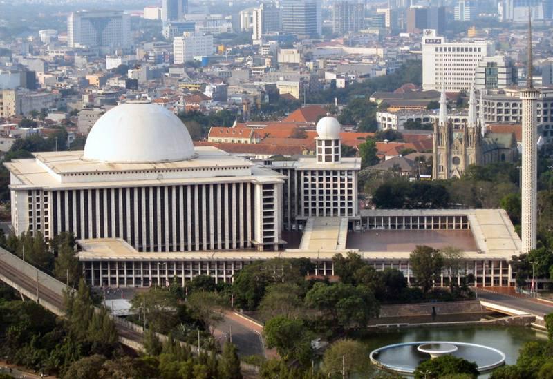 Masjid Istiqlal Jakarta menjadi kebanggan umat Islam  Indonesia